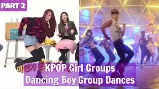 Baixar PART 2 || KPOP Girl Groups Dancing Boy Group Dances || WEEKLY IDOL EDITION