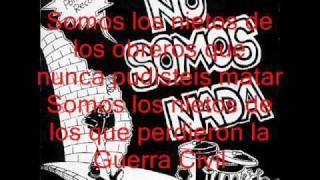 La Polla Records - No somos nada (letra)