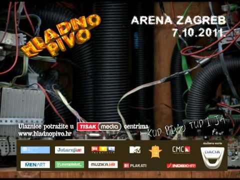 Hladno pivo - Arena Zagreb reklama