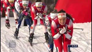 Sprint Semifinaler Kvinner Drammen 2020