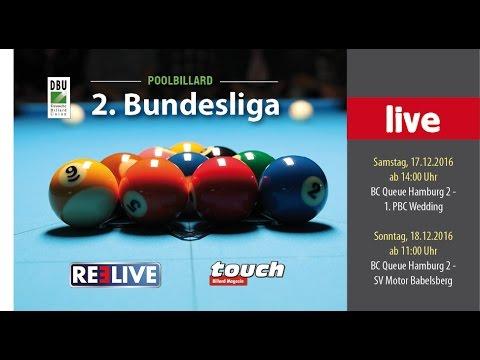 2. Bundesliga Pool.  BC Queue Hamburg vs. 1. PBC Wedding