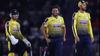 vuclip Afridi stamps mark as Hants hold on | Latest Circket News | Sin Sports
