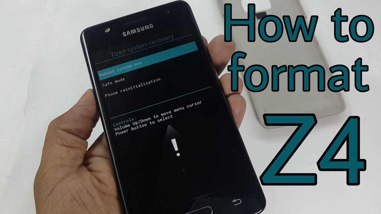 Samsung Z4 Software Update Videos - Waoweo