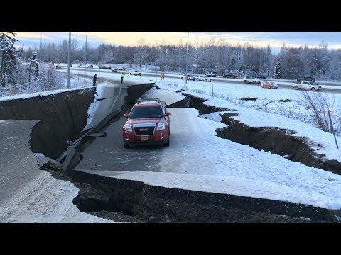 Anchorage earthquake coverage