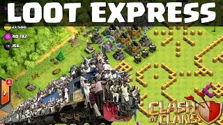 [facecam] LOOT EXPRESS || CLASH OF CLANS || Let's Play Clash of Clans [Deutsch/German HD]
