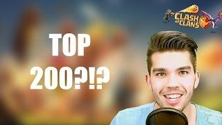 CLASH OF CLANS: Top 200!?!?! ✭ Let's Play Clash of Clans [Deutsch/German HD]