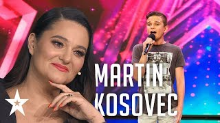 Martin Kosovec sings a song by Oliver│Supertalent 2019│Auditions