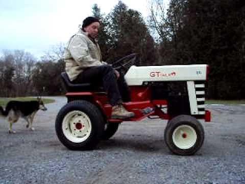 Beautiful Electric Massey Ferguson Garden Tractor Test Drive Nice Design