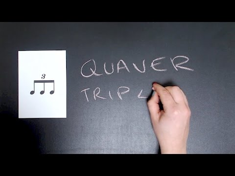 Introducing the quaver triplet to music students
