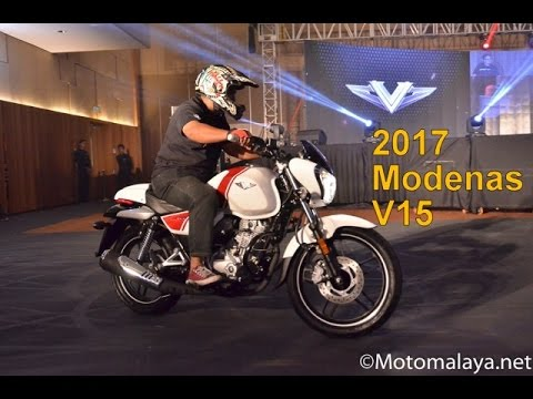 Pandang Pertama: 2017 Modenas V15 - RM5,989.00 (asas dengan GST)