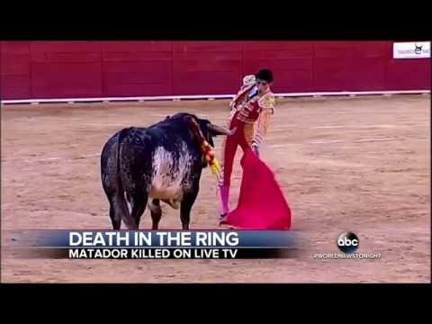 Finally Matador Victor Barrio Killed By Bull In Spain