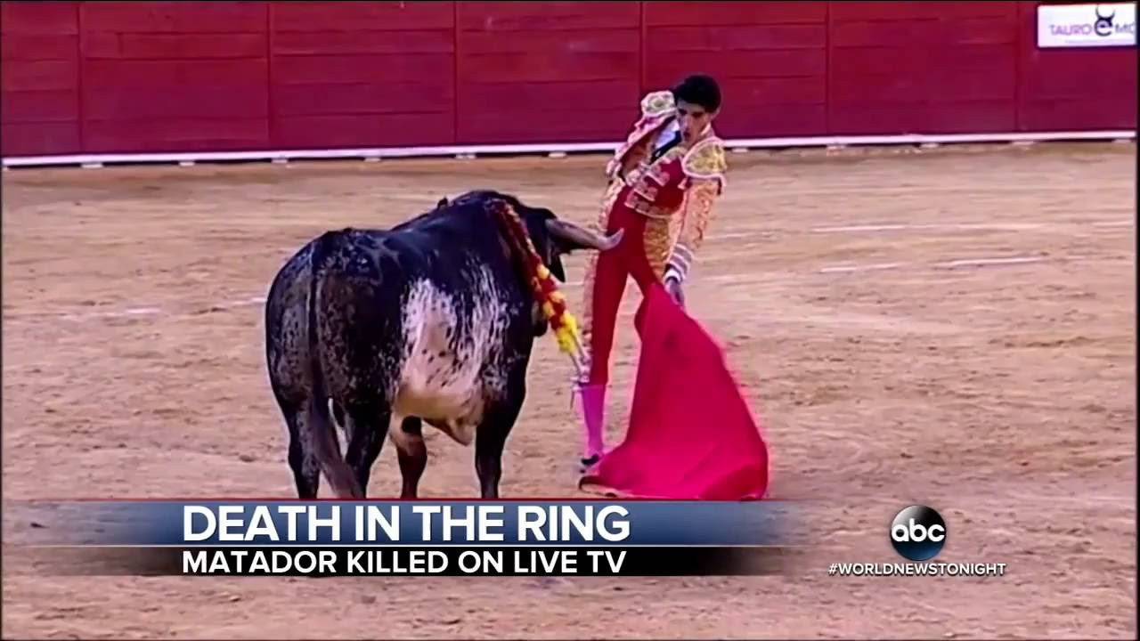 Finally Matador Victor Barrio Killed By Bull In Spain