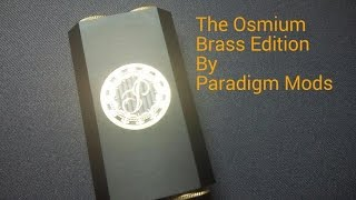 The Black Osmium by Paradigm Mods - Setup of the Gods Part 1