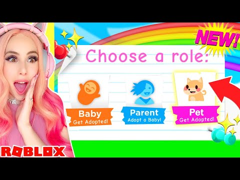 How To Play AS A PET In Adopt Me.. Roblox Adopt Me