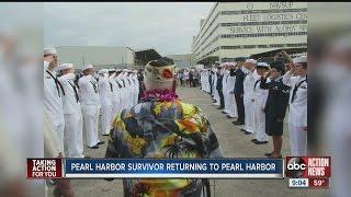 Pearl Harbor survivor returning to Pearl Harbor