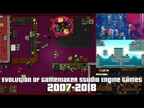 Evolution Of GameMaker Studio Engine Games 2007-2018
