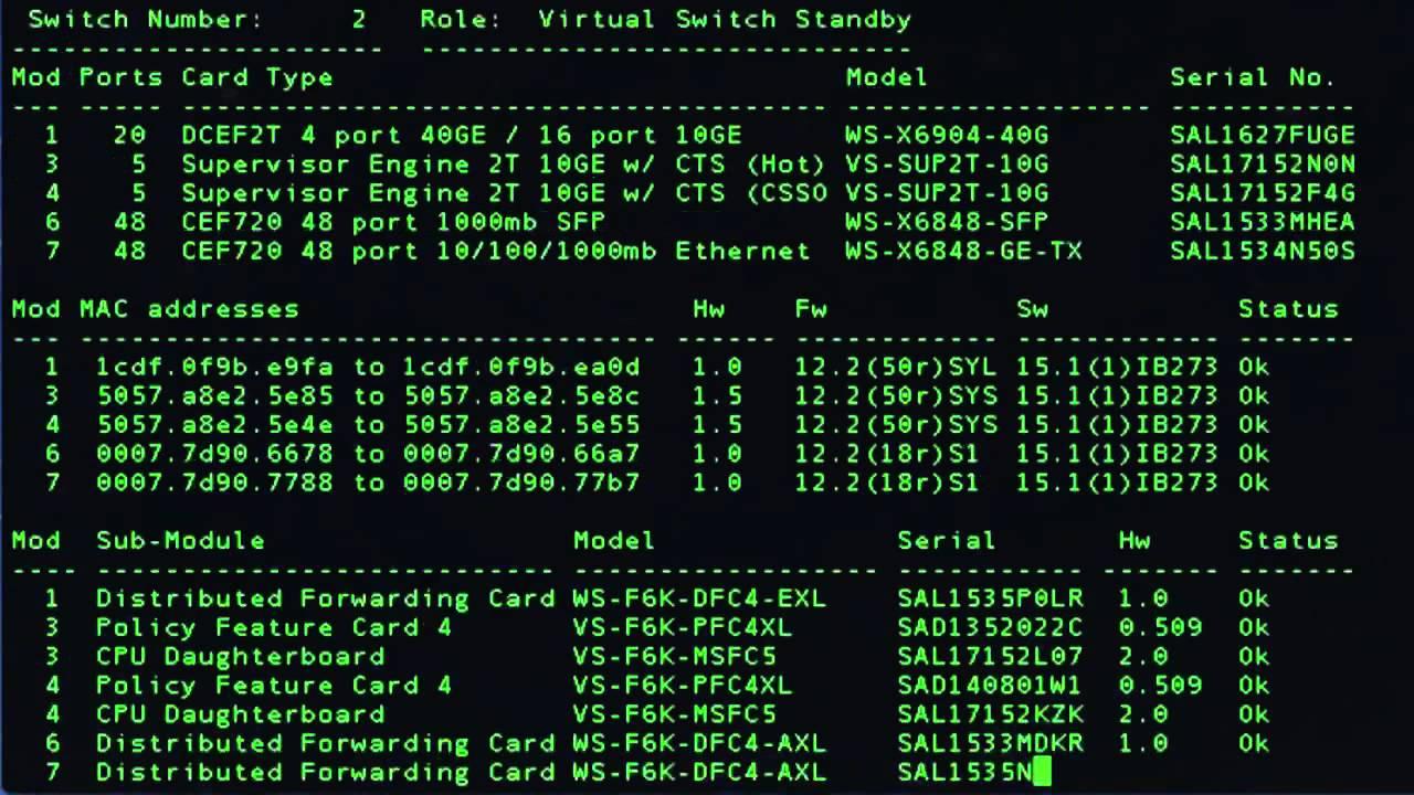 Cisco VSS Quad Sup with Instant Access Demo