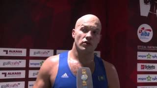 Василий Левит о своём бое в 1/4 финала чемпионата мира в Дохе