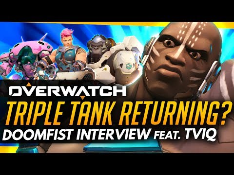 Overwatch | Doomfist TRIPLE TANK Incoming? - ft Pro Tviq (Interview)