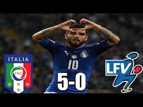 ITALY VS LIECHTENSTEIN 5-0 MATCH RECAP | INSIGNE SCREAMER!
