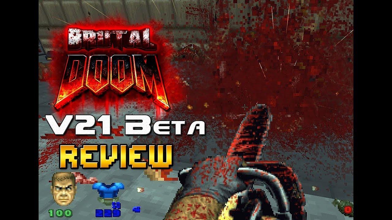 Brutal Doom v21 PC review (beta) - BD21 is the best Brutal