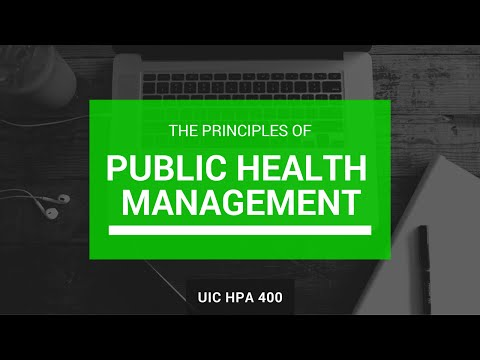 Week 1 Public Health Management and Leadership Intro