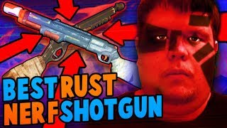NERF+RUST PUMP SHOTGUN MOD (115+ FPS) ft. CODY17 - BuzzBee Monorail Blaster Mod | Walcom S7