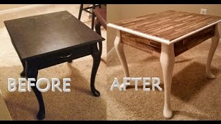 DIY Paint Stick Side Table - with Daily Mandy