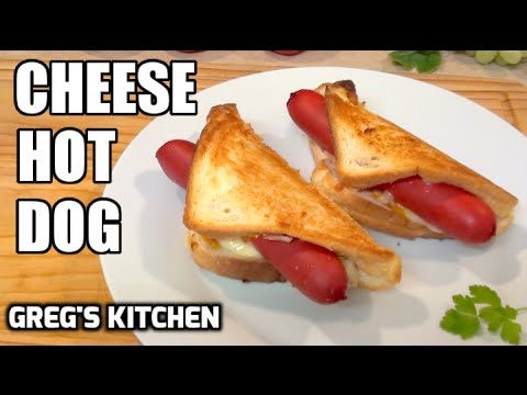 Grego's CHEESE HOT DOGS - Greg's Kitchen