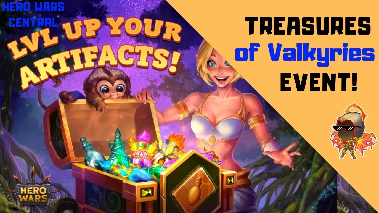 Hero Wars | Treasures of the Valkyries Event!