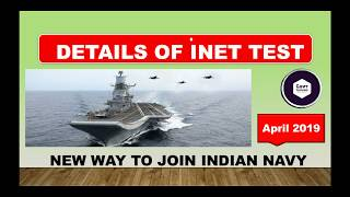 INET EXAM | INDIAN NAVY ENTTERANCE TEST (INET) NEW CHANCE | ALL DETAILS EXPLAINED | GOVT CRACKERS