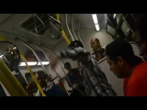 Bus Bully Meets His Match - Karma Payback