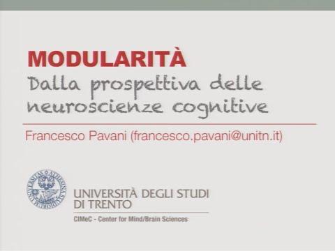 Modularità. Dalla prospettiva delle scienze cognitive - Francesco Pavani - Rovereto, 2 dicembre 2015