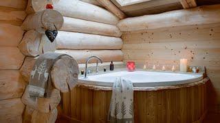 Как обустроить ванную комнату в русском стиле