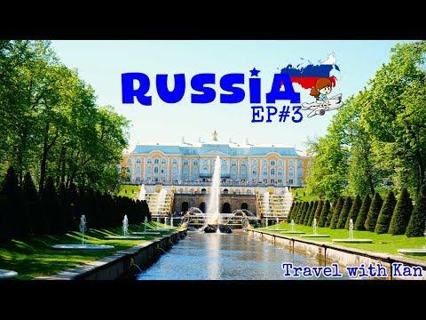 TwK - เที่ยวรัสเซีย - Russia Travel Vlog - EP#3 St.Petersburg  - Peterhof (ENG SUB)