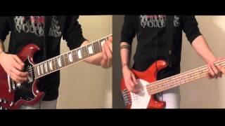 L'invasione Degli Omini Verdi - Ancora Qui (Guitar&Bass cover HD)