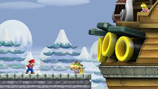 New Super Mario Bros. Wii - World 3 (Complete)