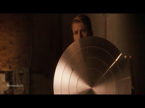 Captain America Gets Vibranium Shield Scene In Tamil (Captain America:The First Avenger)