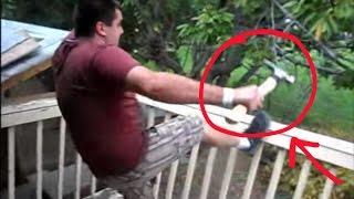 Adult Temper Tantrum Dad Destroys His Own Deck Cus His Team Lo…