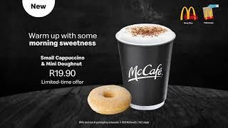McCafe    Cappuccino and Doughnut R...