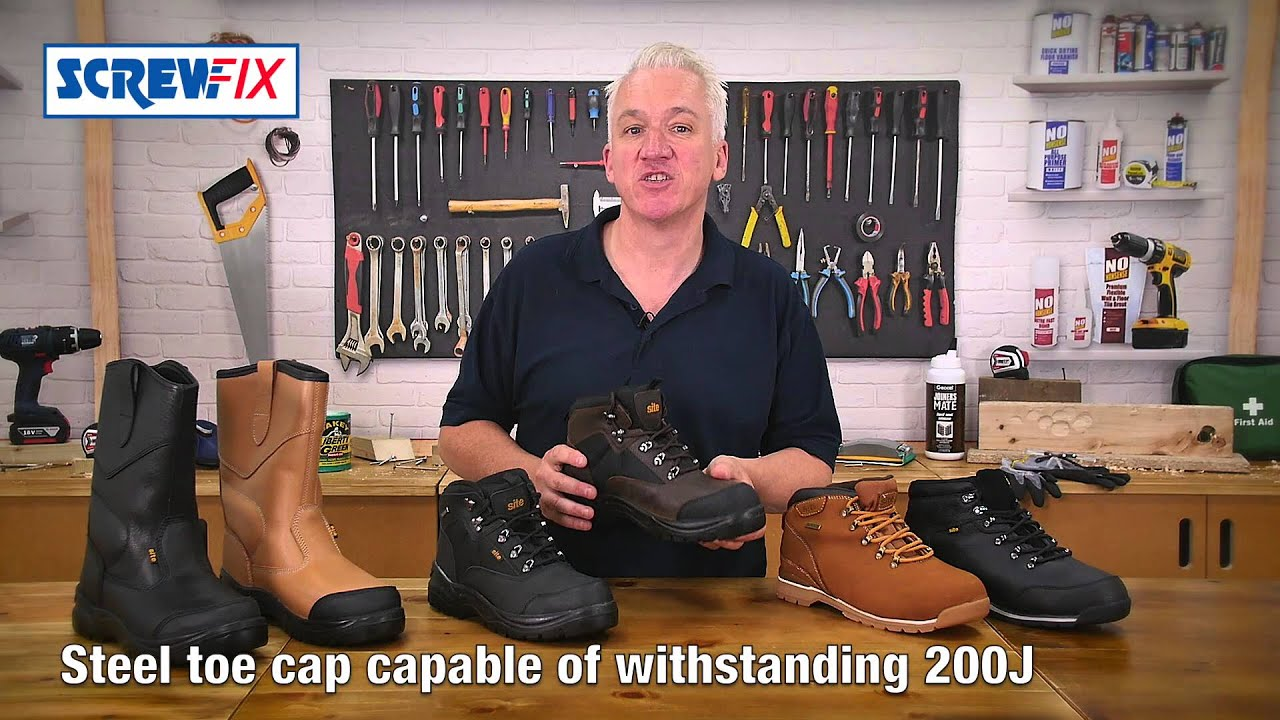 Work Boots and Shoes ¦ Screwfix - YouTube