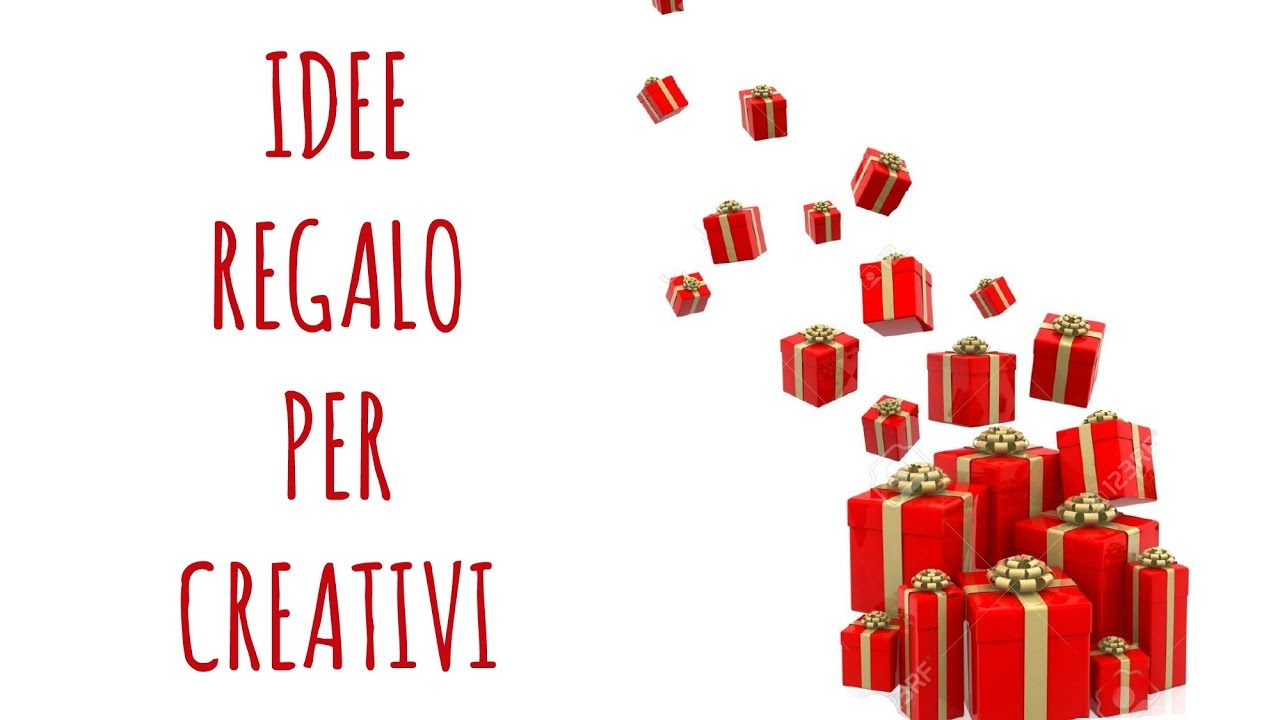 Idee regalo per i creativi natale arte per te youtube for Idee regalo natale moglie