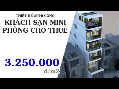 Thiết kế & Thi công Phòng Cho Thuê & Khách Sạn Mini – theARC.vn