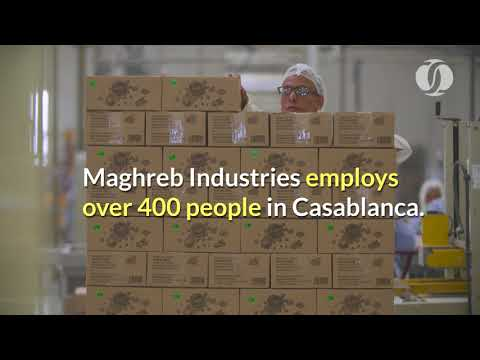 Moroccan confectionery factory that runs on solar energy