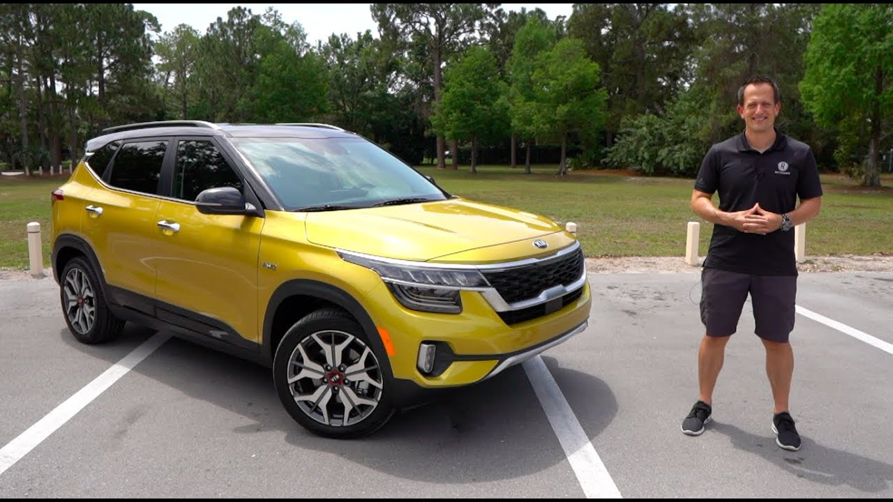 why is the 2021 kia seltos sx the best subcompact suv