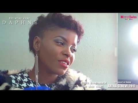 Daphne en Suisse Interview et show time à Geneve !