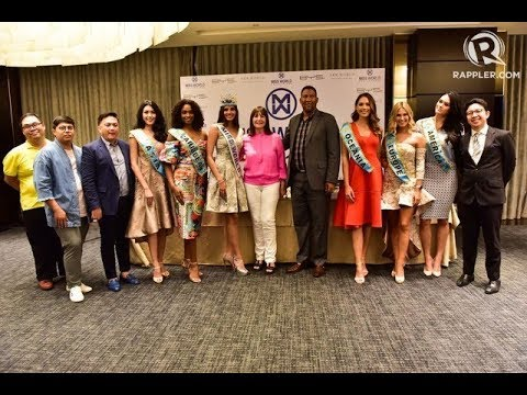 Miss World 2016 Stephanie del Valle in the Philippines for charity work