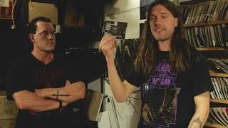 Spinning Random Vinyl at Hells Headbangers