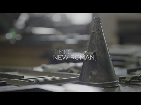 История создания - Times New Roman