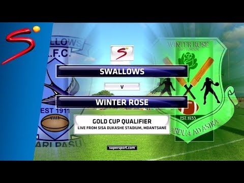 Swallows vs Winter Rose - Gold Cup Qualifier - 1st half (Sisa Dukashe Stadium,Mdantsane)